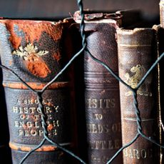 Ancient books in Chetham's Library