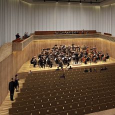 cgi of The Stoller Hall, a new performance space for chamber music