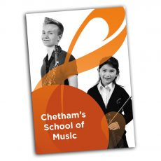 Chetham's School of Music Prospectus Web Cover