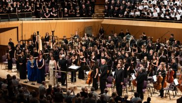 Chetham's Symphony Orchstra and Chorus perform at the Bridgewater Hall