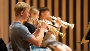 Chetham's brass ensemble